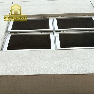 14j938图集泄爆窗采用钢质,铝合金,不锈钢窗框