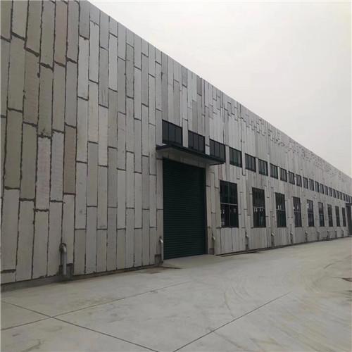 化工厂轻质泄压墙安装工程案例