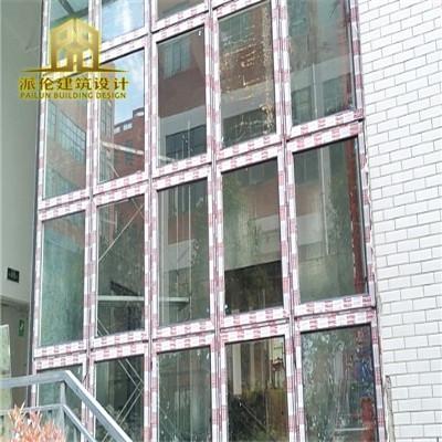 泄爆窗需要有大面积的玻璃面积,用于泄爆