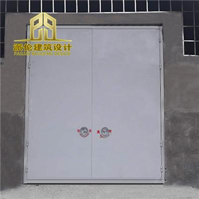 派伦防爆门的门板是半拱型或矩形整体式